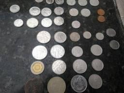 Lote moedas Cruzeiro/Réis