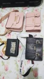 Bolsas para night Schutz e Dior
