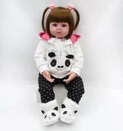 Bebe Reborn Npk Ursinho Boneca 47 Cm - Pronta Entrega