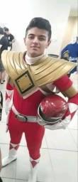 Cosplay Completo ranger vermelho
