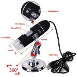 Microscópio Digital Usb 1000x Camera 2.0mp Profissional arduino