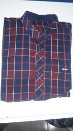 Camisas DPTO JR (seminovas ,poucas marcas de uso )