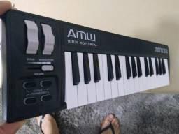 AMW Mini 32 Black Teclado Controlador Midi - Usado em Ótimo Estado! Última Unidade!