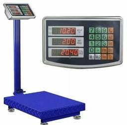 Balanças digitais plataforma 200kg #Profissional
