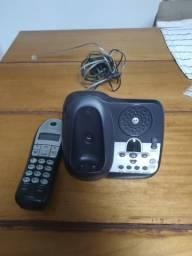 Telefone sem fio Motorola com viva voz e secretária eletrônica