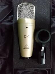 Microfone Behringer C1 condensador para estudio