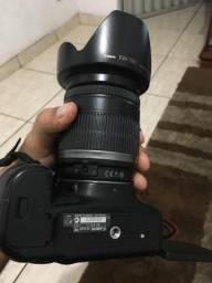 Máquina Fotográfica Cânon 60D e Lente EFS 18-200mm