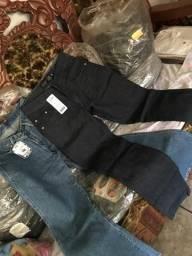 Vendo calças femininas e masculinas