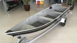 Barco alumínio, Pety 600 S c/ carreta rodoviária - 2019
