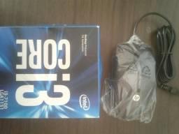 Processador Core i3 7100, 8 GB ram, Mouse HP