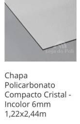 Chapa de policarbonato compacto