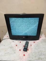 Televisão LG 29 e controle