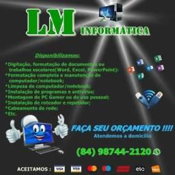 LM Informática - Formatação E Manutenção A Domicílio