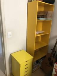 Armário e gaveteiro