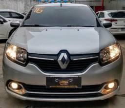 Renault Logan Expre 1.6 2016 automático 2 mil de entrada + parcelas de 599 FIXAS - 2016