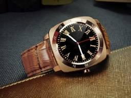 Relógio Smartwatch X3 Pulseira Couro Câmera Bluetooth Sono