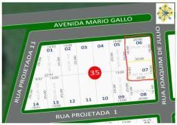 Terreno Comercial de esquina 670m2 Jardim Eldorado Marialva
