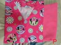 Pijama cirúrgico - novo - vários tamanhos e estampas