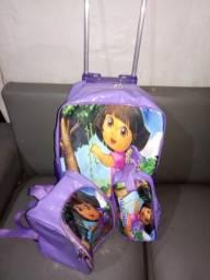 Kit escolar Mochila+lancheira+estojo