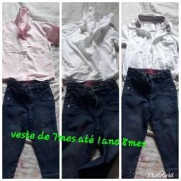 3bulsa social e uma calça bem conservados chamá 986538172 entrego terminal Antonio bezerra