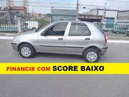 Fiat Palio Financie com score baixo Entrada de 4000 ou 2000