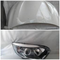 Capo parachoque Farol Renault Captur original