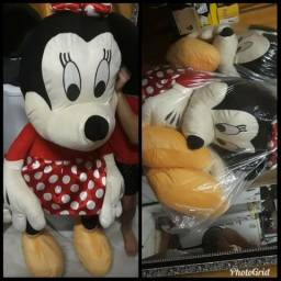 Casal de Pelúcia Mickey e Minnie