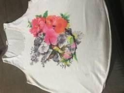 Camiseta estilo regata *Comprada na Espanha