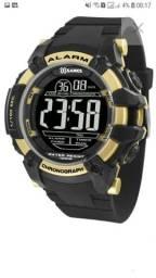 Relógio X-games Masculino Digital Xmppd539 Negativo Dourado