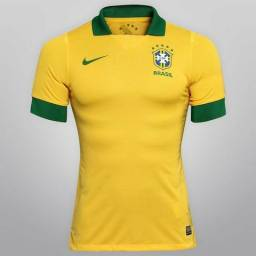 Camisa Nike Seleção Brasil I 2013 s/nº