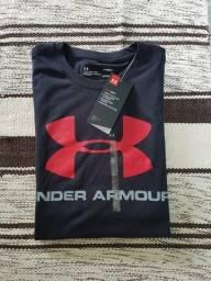 Camiseta (tamanho P) UNDER ARMOUR SPORTLOGO