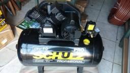 Compressor de ar schulz 10/100 140lbs 2cv mono R$1700,00 a vista novo sem uso com garantia