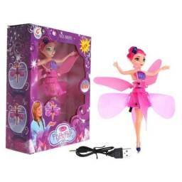 Boneca Fada Voadora que voa de verdade