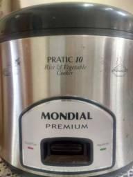 Panela elétrica Mondial Premium/ Micro-ondas LG