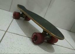 Skate X7 Madeira Bamboo Vendo/troco