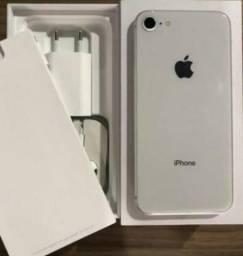 IPhone 8 - 3 meses de uso** nota fiscal e garantia Apple