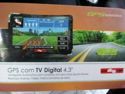 GPS para carro com TV digital