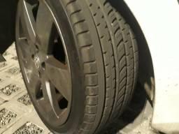 Troco pneus aro 17 205/45