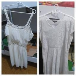 2 vestidos lindos super novos valor promocional