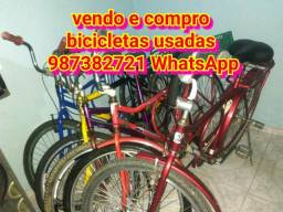 Compro e revendo bicicletas usadas