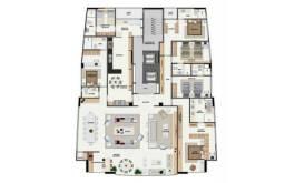 CB - More na Jaqueira, 05 Suites (01 Master), 312m2, Praça Fleming