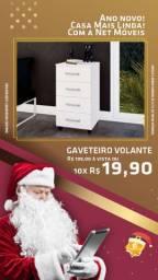 Promoção de Natal!! Gaveteiro Volante NOVO