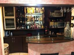 Barzinho/Cristaleira - Móvel Bar sob-medida(3,30x2,50)