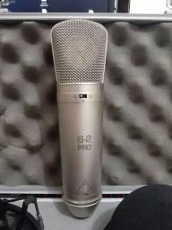 Microfone condensador Behringer b-2 pro