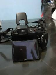 Vendo ou troco por ar condicionado, Câmera semi profissional Nikon P100