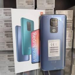 Redmi Note 9 128 GB Gray/Green (LOJA FÍSICA)