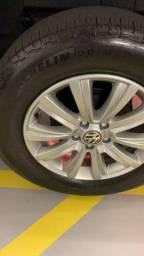 Rodas com pneus Amarok