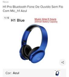 Fone de ouvido bluetooth 20 horas
