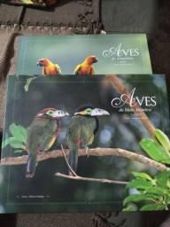 Livro pássaros da Amazônia/mata atlântica
