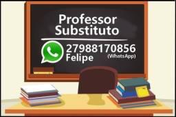 Professor Substituto (História e outras disciplinas)